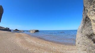 Дикий пляж в Баку | Море | Отдых 2018