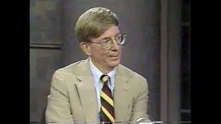 George Will on Late Night, June 27, 1990