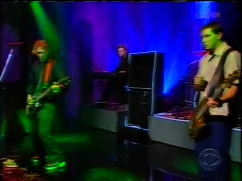 silverchair anthem for the year 2000 letterman