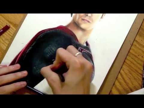 Vẽ Superman cực chất nhé.