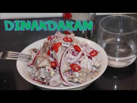 Salad na may pusit diyeta