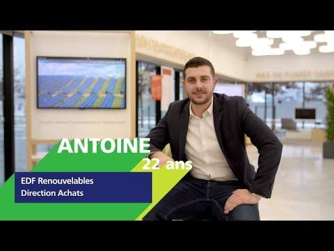Video FR #AlternanceEDF - Découvrez Antoine, alternant dans les achats d'EDF Renouvelables
