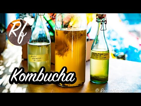 How to make and ferment your own kombucha with different flavours such as mango, ginger, hops and malt, turmeric, beetroot, carrot, raspberry and so on. >