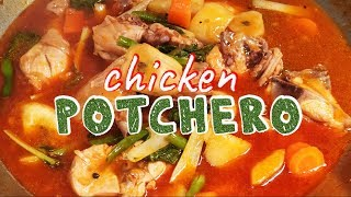 Chicken Potchero Panlasang Pinoy (How to cook chicken Potchero) Potcherong Manok  2019