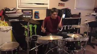 Bayside - two letters (drum cover)