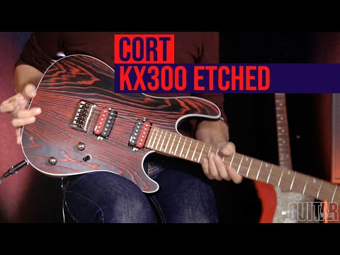 Cort KX300 Etched-EBG - Chitara electrica
