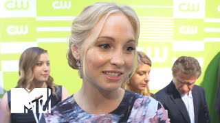 'Vampire Diaries' Stars Candice Accola & Daniel Gillies On Nina Dobrev | MTV News