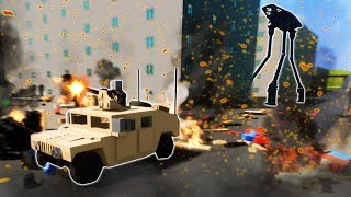 ALIEN DISASTER IN LEGO CITY! - Lego Brick Rigs Gameplay Roleplay - Fun Lego Alien Survival!