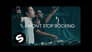 R3hab & Headhunterz   Won't Stop Rocking