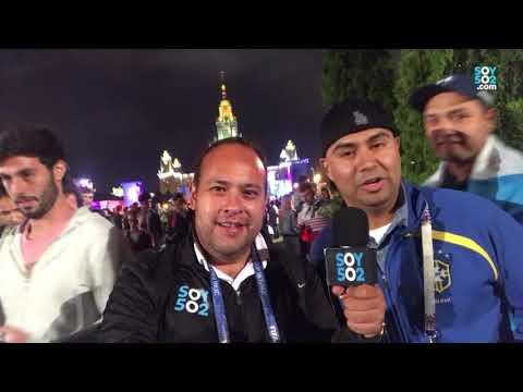Así se vivió la semifinal Francia - Bélgica en el Fan Fest en Moscú