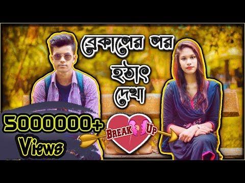 ব্রেকাপের পর হঠাৎ দেখা । Break Up er Por Hotat Dekha । Breakup Story । Mini Film 2018 । Silent Frndz