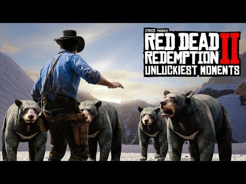 When Red Dead Redemption 2 Hates You #3 (RDR2 Unlucky Moments)