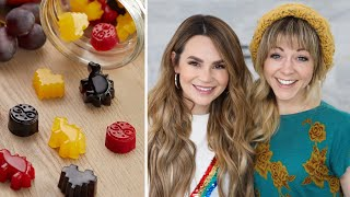 We Try Making Nerdy Nummies Gummies! ft Lindsey Stirling! - NERDY NUMMIES