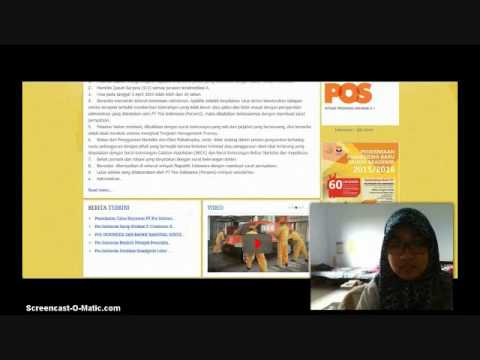 PAP A2 Tugas 05 - Analisis (www.posindonesia.co.id) - D3 KOMSI Sekolah Vokasi UGM