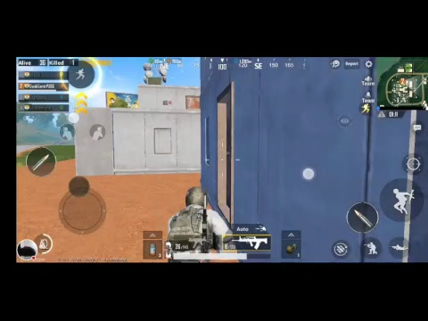 My PUBG MOBILE Stream unlimited rushing kill enemy