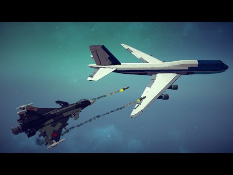 Spectacular Airplane Crashes, Shootdowns, Midair Collisions and More #13   Besiege