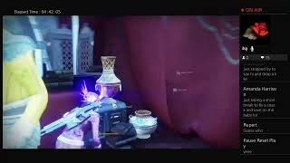 D2 Revelry fun on my warlock with my husband... 3rd times a charm 😂