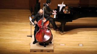 Catalin Rotaru, double bass - Balada by Ciprian Porumbescu