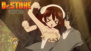 Dr. Stone: Stone Wars (Season 2) Episode 6 English Sub | Crunchyroll Clip: Yuzuriha's Handiwork