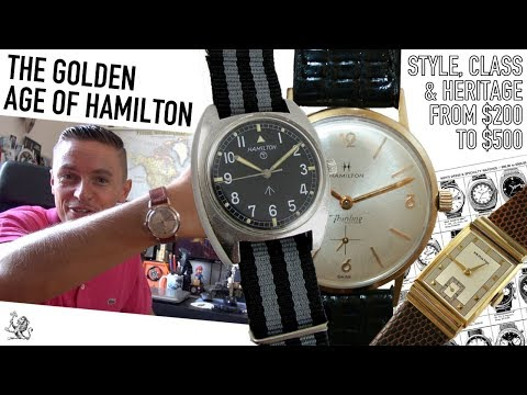 Buying Vintage Watches - 5 Reasons Why Hamilton Are One Of The Best Brands At $200 To $500 (WWT#87) Mp3