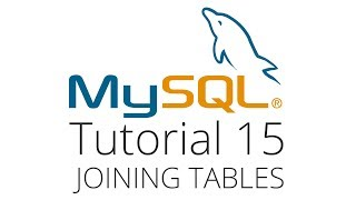 MySQL tutorial 15 - joining 2 tables