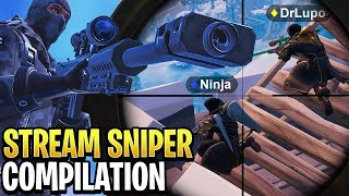 Best Fortnite STREAM SNIPER Compilation! #3