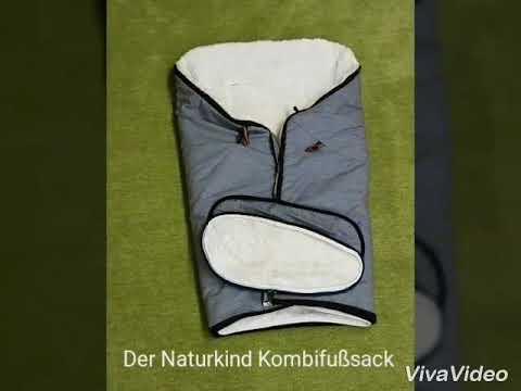 Der Naturkind Kombifußsack - So wird der Winterfußsack zum Sommerfußsack