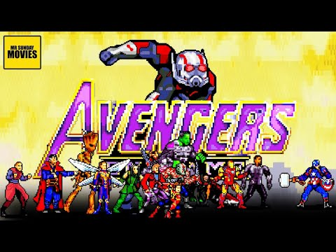 Someone recreated the final Endgame battle in 16-bit.