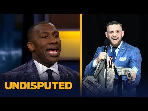 Shannon Sharpe admits Conor McGregor won round 2 - but did he go too far? | UNDISPUTED
