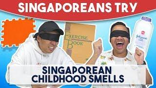 Singaporeans Try: Singaporean Childhood Smells
