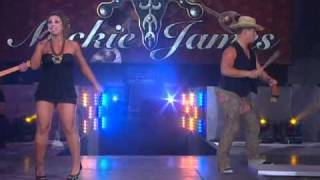 Mickie James Performes Hardcore Country