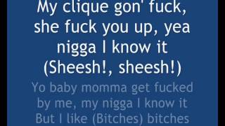 Rich Homie Quan - Bitches Ft. Young Thug(Lyrics On Screen)