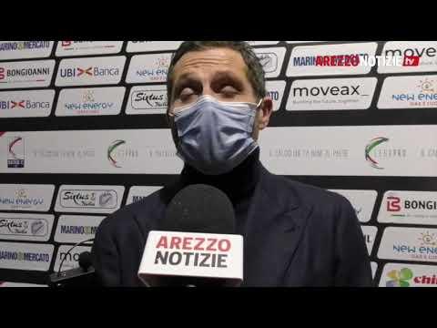 Arezzo-Cesena 0-2, intervista al DS De Vito