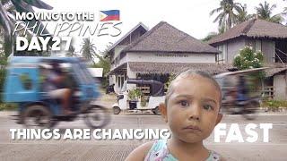 Small BRITISH Family, BIG FILIPINO AUDIENCE! Making Changes