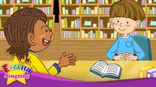 Tôi có thể đọc cuốn sách đó? Chắc chắn, bạn có thể. - bài hát tiếng Anh cho trẻ em