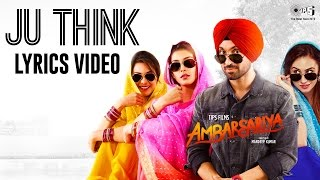 Ju Think Lyrics  Diljit Dosanjh