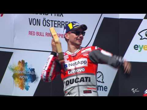 2018 Austrian GP - Ducati in action