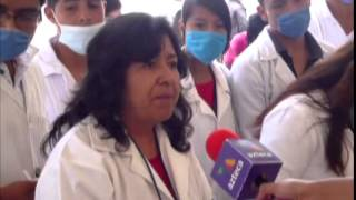 preview picture of video 'Inauguración Feria Tejocote Calpan 2014 - Corte de Listón'