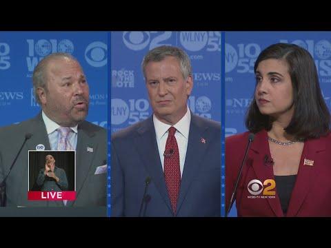 Final 2017 NYC Mayoral General Election Debate