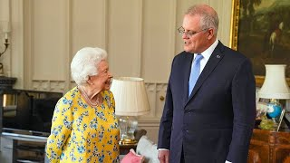 video: Watch: Queen told she was 'quite the hit' with G7 leaders during audience with Australian prime minister