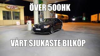 VI KÖPER EN BMW M5 FRÅN UNGERN MED V10 *100K SPECIAL*
