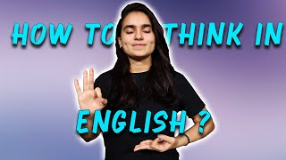 Stop translating from your mother tongue!!! Start thinking in English - Day 22