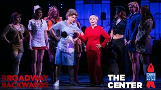 """Florence Henderson sings """"There's Nothing Like a Dame""""  - Broadway Backwards 2015"""