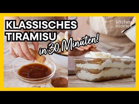 Klassisches Tiramisu Rezept | Mit Mascarpone, Espresso und Amaretto