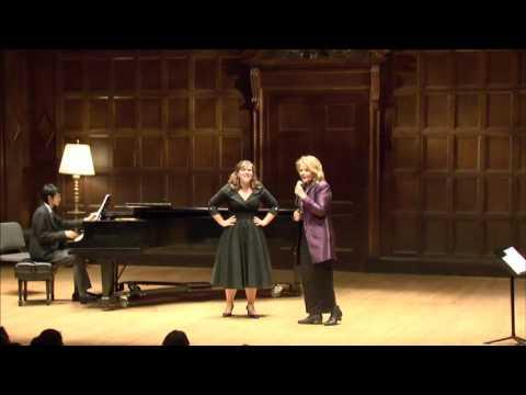 Renée Fleming Master Class, September 28, 2015: Arielle Nachtigal, Nathaniel McEwen