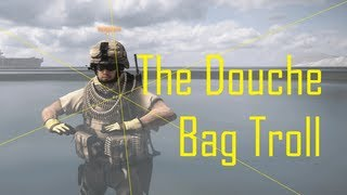 Battlefield 3 - The Douche Bag Troll (Trolling Noobs)