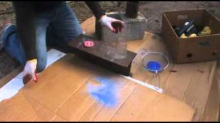 GLASS BOTTLES to SAND glass recycling DIY colored glass - Video Youtube