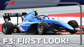 First Look at the 2021 FIA Formula 3 Championship | F3 Testing