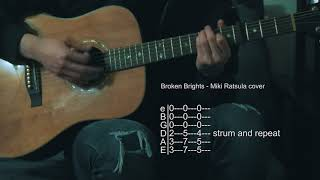 How To Play Broken Brights - Miki Ratsula/Angus Stone - Guitar Tabs