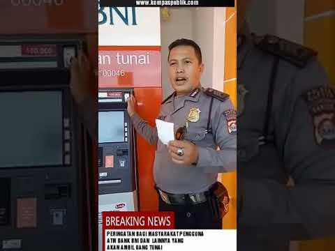 Hati-hati bagi pengguna ATM BNI